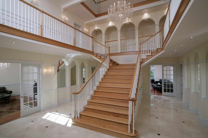Grand Staircase -BOSTON REAL ESTATE CARE COD Osterville